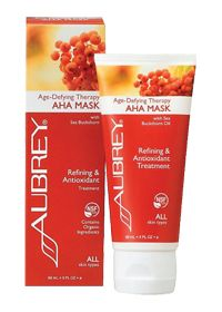 Aubrey Organics Age-Defying Aha Mask Cream for beauty and skin care. Find it at the Vitamin Shoppe!