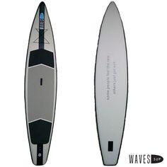 L«aventurière» gonflable Paddle Boarding, Surfboard, Waves, Adventurer, Stand Up Paddling, Wave