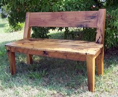 Relaxed Back Reclaimed Barn Wood Dining by BarnWoodFurniture, $415.00