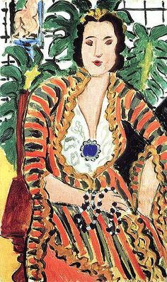 Hélène -  Henri-Émile-Benoît Matisse.  He was a French artist, known for his use of colour and his fluid and original draughtsmanship. He was a draughtsman, printmaker, and sculptor, but is known primarily as a painter