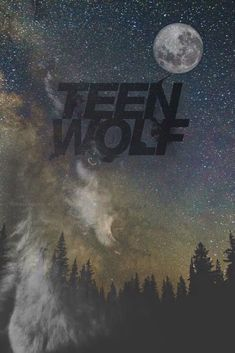 Self-made wallpaperteen wolf BY: ~AMY SCHMITZ #teenwolf #wolf #wallpaper #background #edit