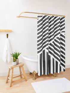 This is a perfect black and white shower curtain bathroom decor choice! Also great if you are looking for a long shower curtains, up to 90 inch. Because of it's monochromatic bathroom style, it's perfect for a masculine bathroom ideas. If you are interested in boho interior and boho colors, this will fit right in to your black and white bathroom decor. Bohemian Shower Curtain, Long Shower Curtains, Custom Shower Curtains, Shower Curtain Sets, Bathroom Shower Curtains, White Bathroom Decor, Bathroom Ideas, Masculine Bathroom, Curtain Material