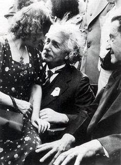 U.S. Albert Einstein & daughter Margot at New York's world fair, 1939 // By Martin Harris