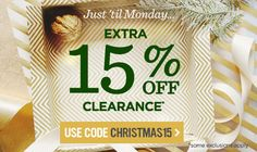 Extra 15% Off Markdowns
