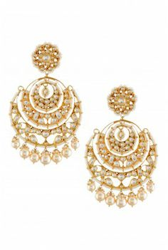 Wedding Day Earrings from Amrapali