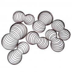 Swirl Wall Decor By Stylist Decor On Thehome Com Au Zizo Metal Wall