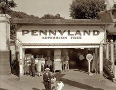 1928. At the Glen Echo amusement park in Montgomery County, Maryland, near Washington