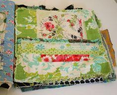 Art journal inspiration. Rambling Rose. Typepad blog. Fabric journal book 8-4-09