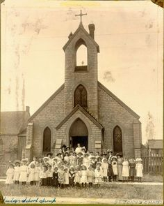 St. John's Chapel was an outreach site of Grace Episcopal Church in the late nineteenth and early twentieth centuries.