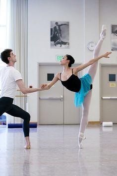 Pas de deux ;;;;;;; Dance <3 This Is Beautiful.