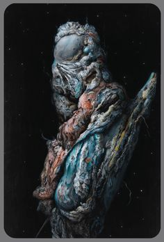 Glenn Brown Titania Awakes/Love-in-Idleness, 2014 Oil on panel 183 x 122 cm