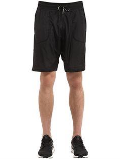 PEAK PERFORMANCE Elevate Sweat Shorts With Jersey Insert, Black. #peakperformance #outdoors
