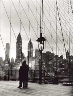 Brooklyn Bridge, 1955  by Mario De Biasi
