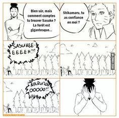 Naruto, comment comptes-tu trouver Sasuke ?
