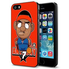 NBA New York Carmelo Anthony Cartoon , Cool iPhone 5 5s Smartphone Case Cover Collector iphone Black Phoneaholic http://www.amazon.com/dp/B00UC33B42/ref=cm_sw_r_pi_dp_suInvb0WG0EWD