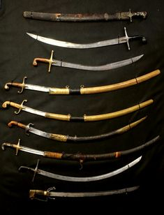 Swords And Daggers, Knives And Swords, Pirate Sword, Ninja Weapons, Cradle Of Civilization, Katana Swords, Film Inspiration, Arm Armor, Medieval Armor