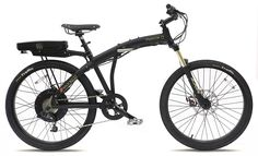 Prodeco V3 Phantom O 8 Speed Folding Electric Bicycle, Matte Black, 26-Inch/One Size - OyDeals