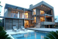 On the BEACH!   A special Stephan Antoni designer home - R7 990 000 Kaz - 082 562 9404, Anne - 0837406192 - Pam Golding