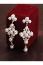 Baroque Style Pearl Earring