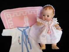 """Vintage Effanbee Dy-Dee Doll 11"""" Mold 3 - GORGEOUS"""