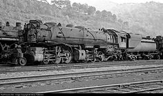 RailPictures.Net Photo: CO 1334 Chesapeake & Ohio (C&O) Steam 2-6-6-2 at Peach Creek, West Virginia by Steve Patterson