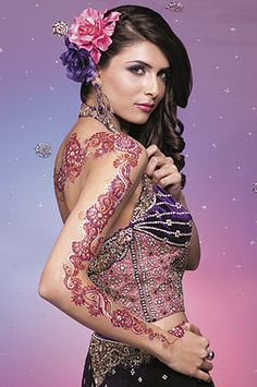 Pink henna XD