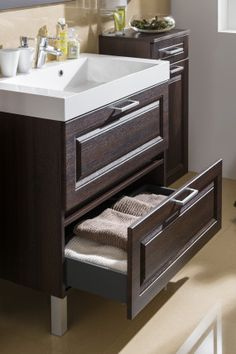 Katy Dub pílený schoko Vanity, Bathroom, Dressing Tables, Washroom, Powder Room, Vanity Set, Full Bath, Single Vanities, Bath