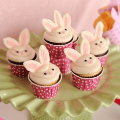 bunny cupcakes!  from cupcakes take the cake