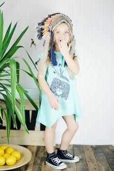 Funky baby girl dress