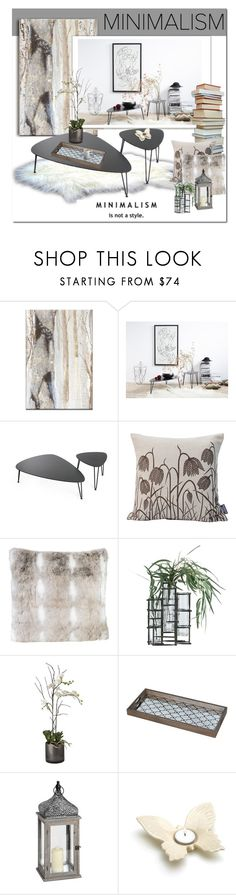 """""""Minimal"""" by cruzeirodotejo ❤ liked on Polyvore featuring interior, interiors, interior design, home, home decor, interior decorating, Arteriors, Sia, Notre Monde and Home"""