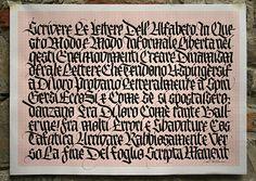 """Las """"blackletters"""" de Rudolf Koch. Se le considera uno de los padres de la caligrafía moderna. Su interpretación, creativa y heterodoxa, de las góticas ha deslumbrado a algunos calígrafos jóvenes."""