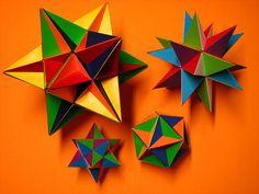 Kepler-Poinsot polyhedra by fdecomite, via Flickr