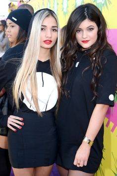 Pia Mia and Kylie Jenner