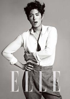 Park Bo Gum - Elle Magazine May Issue '13