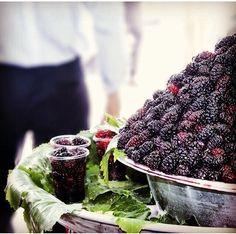 Blackberries for sale. Iran
