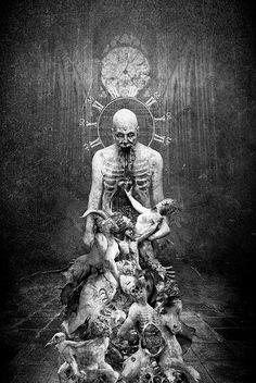 """A God that Wants to Die iII"" By Seth Siro Anton"