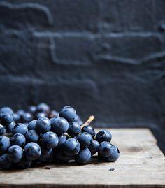 concord grape sauté | shallot + herb chickpea flatbread (socca).