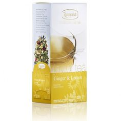 A herbal infusion of ginger and lemon from the Ronnefeldt Joy of Tea range comes in portioned teabags perfect for tea lovers who demand convenience and quality in every cup. Lemon Grass, Herbalism, Joy, Bottle, Bags, Handbags, Flask, Totes, Being Happy