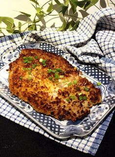 Plaice Fillet in Coconut Crust