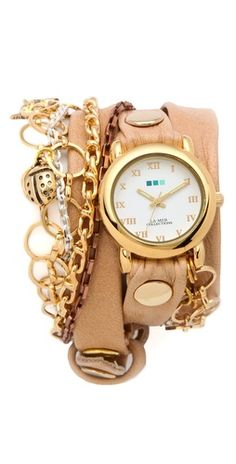WANT! La Mer CollectionsPalm Springs Vintage Charms Watch