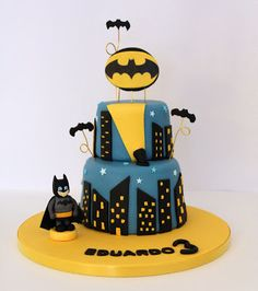 Tarta Batman.