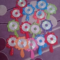 cd mirror craft idea for kids