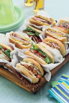 Pressed Cuban, Italian-Style & Barbecue Sandwiches - Entertaining Entrées