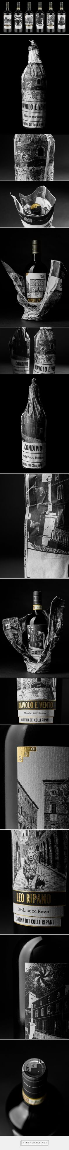 508 Collection wine packaging design by Andrea Castelletti - https://www.packagingoftheworld.com/2018/06/508-collection.html