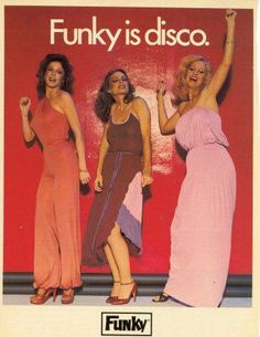 Late 70s Disco fashions