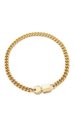 Marc by Marc Jacobs Lock In Choker Necklace 158.00
