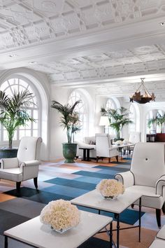 Boca Raton Resort and Club - A Waldorf Astoria Resort - Boca Raton, Florida - The Mediterranean-Revival Florida main building was designed by the legendary Addison Mizner.