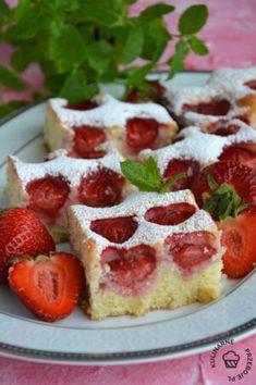 Dessert Drinks, Desserts, Plum Jam, Sweet Recipes, Baking Recipes, Waffles, French Toast, Cheesecake, Strawberry