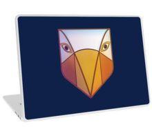 Skin laptop with tribal bird mask