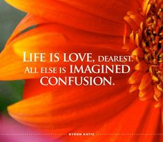 life is love all else is imagined confusion